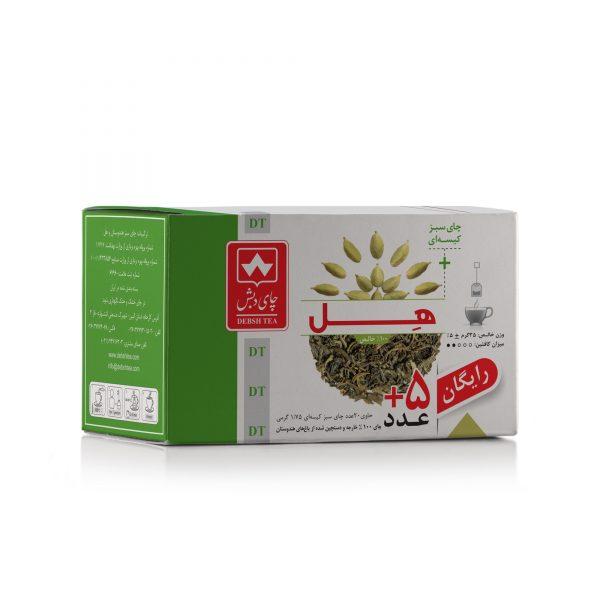 چای سبز با هل