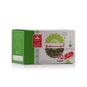 چای سبز با لیمو