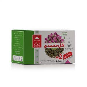 چای سبز با گل محمدی