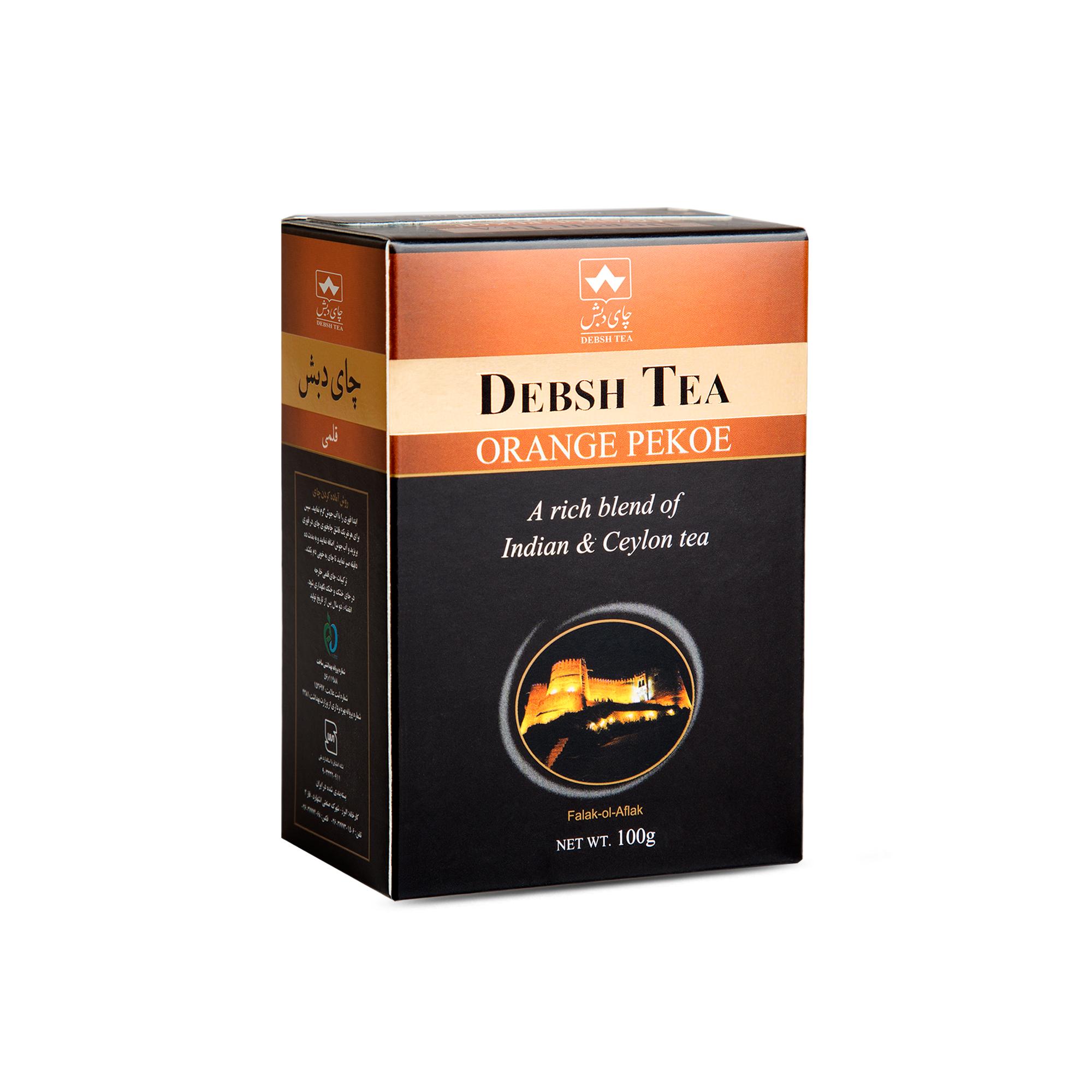 چای قلمی پاکتی 100 گرمی